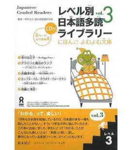Japanese Graded Readers, Level 3 - Volume 3 (CD inclus)