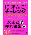 Nihongo Challenge N4 - Grammaire et lecture (Préparation au JLPT avec traductions en anglais et portugais)