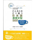 500 Essential Japanese Expressions - A Guide of Correct Usage of Key Sentence Patterns (N1-N3)