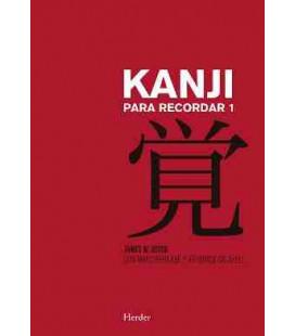 Kanji para recordar 1 (Segunda edición)