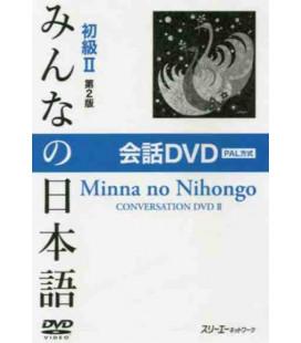 Minna No Nihongo 2- Kaiwa DVD PAL- (Segunda Edición)