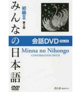 Minna No Nihongo Élémentaire 2 - Conversation DVD PAL (Kaiwa - Shokyu 2) 2ème édition
