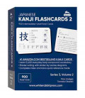 Japanese Kanji Flashcards Volume 2 (Series 3) - White Rabbit Press - 900 Intermediate-Level Kanji Cards