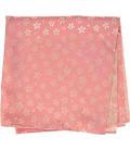 Yamada Seni Musubi - Foulard japonais - Kirara-Sakura (rose et crème) - 100% Polyester