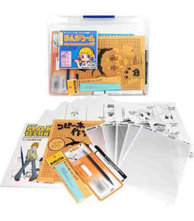 Deleter Manga Tool Set Starter (Kit d'initiation au dessin Manga)